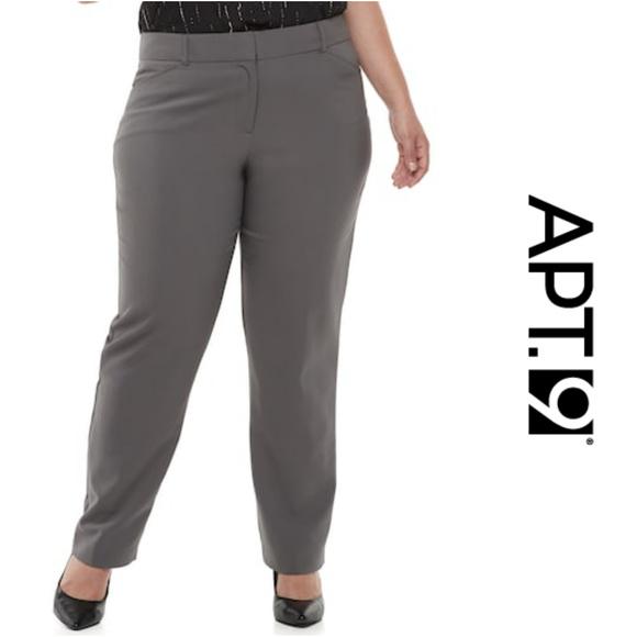 85754ec64f3 Torie Modern Fit Straight-Leg Dress Pants 24W